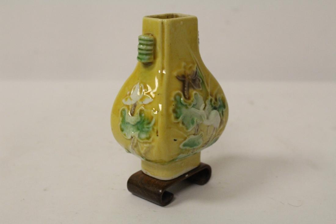 5 small vintage porcelain vases - 7