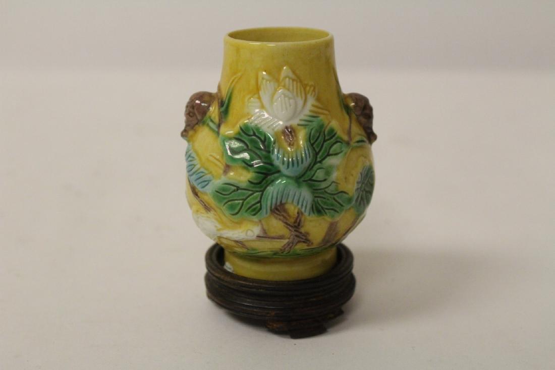 5 small vintage porcelain vases - 8