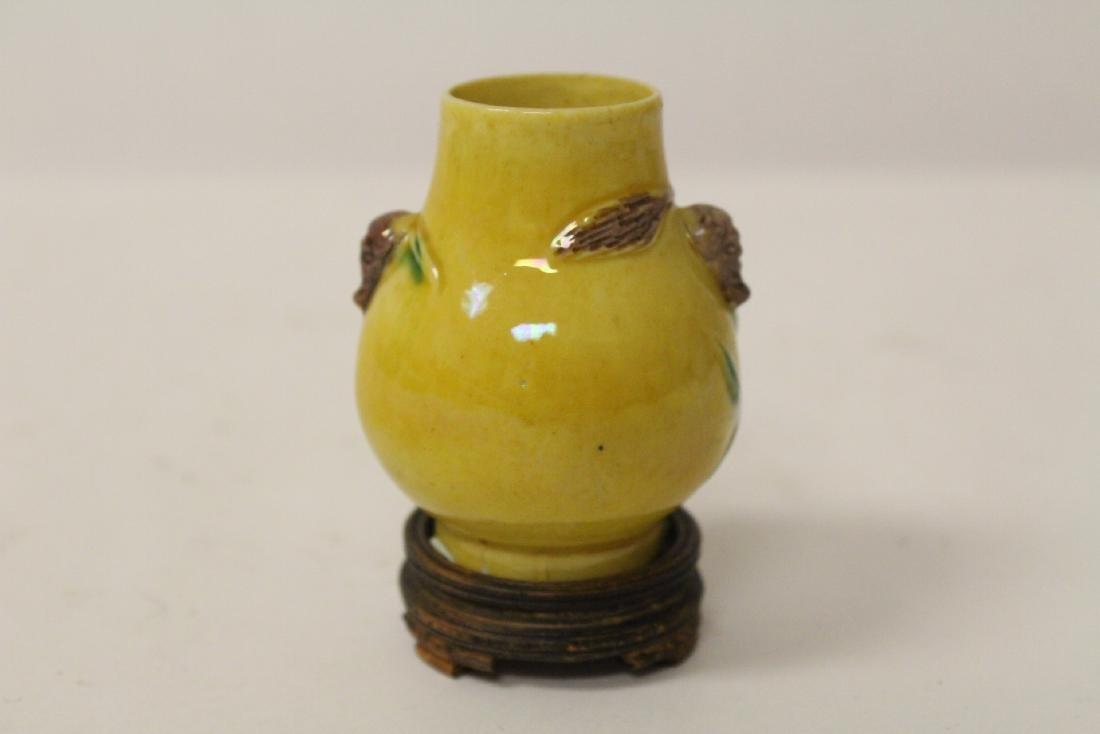 5 small vintage porcelain vases - 9