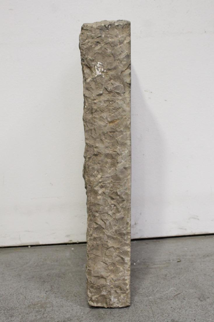 A stone plaque - 8