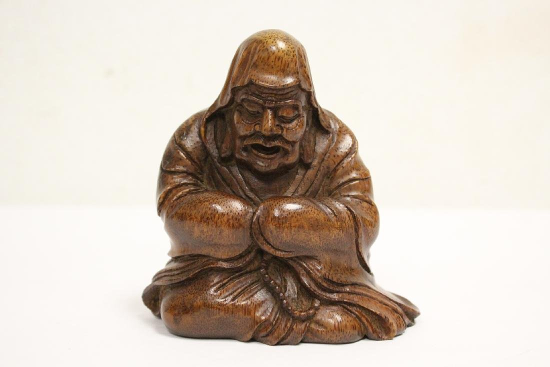 Very nice Chinese bamboo carved figure