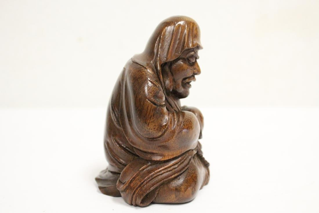 Very nice Chinese bamboo carved figure - 4