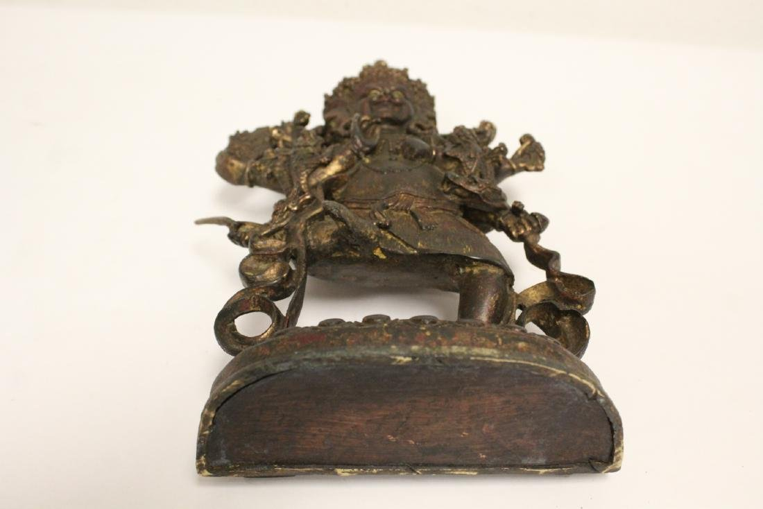 Chinese bronze sculpture of Buddha - 10