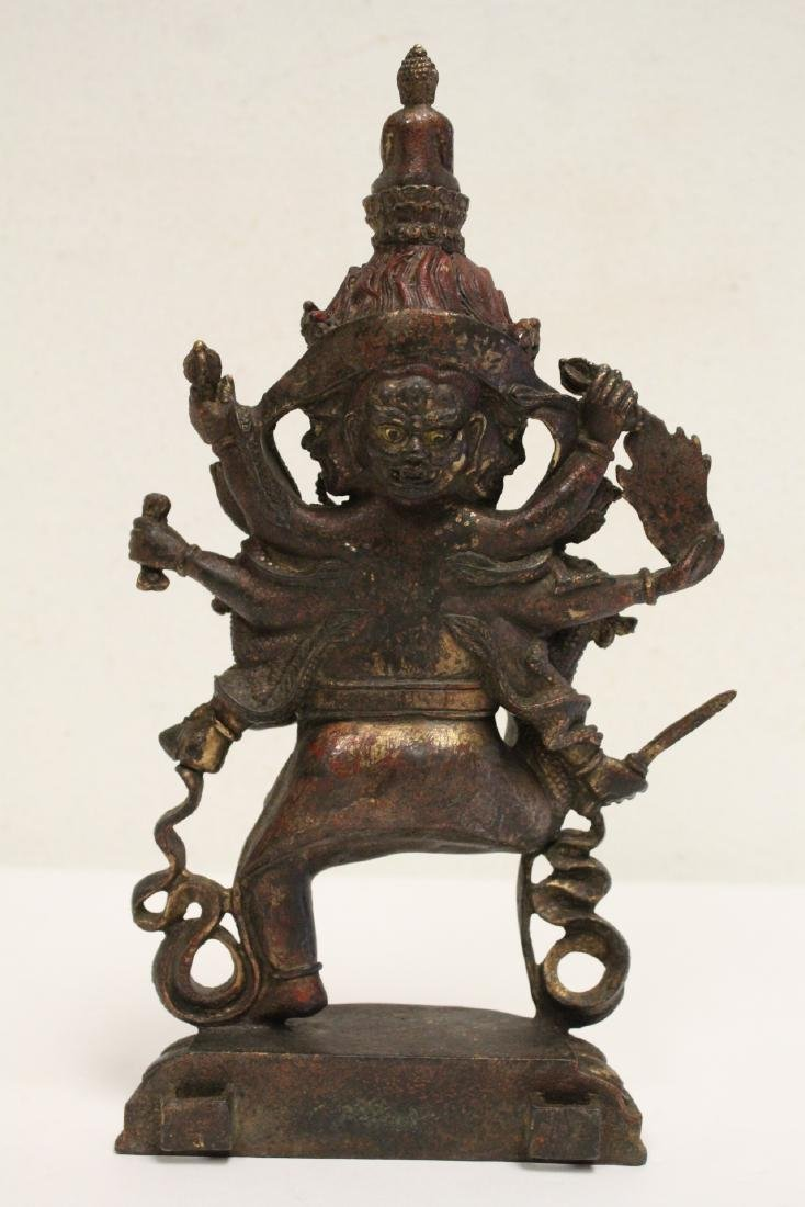 Chinese bronze sculpture of Buddha - 3