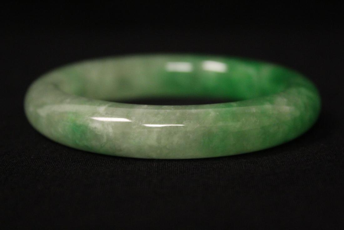 Jadeite like bangle - 7