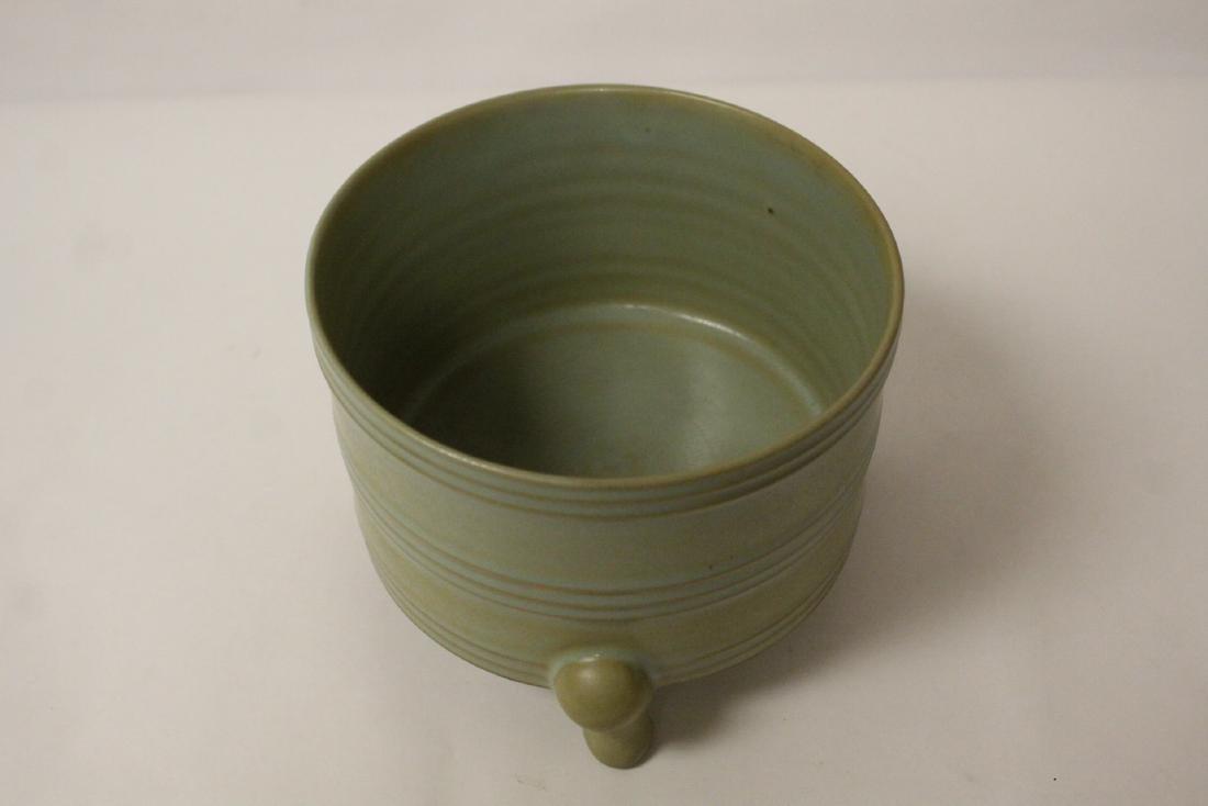 Song style celadon censer - 5