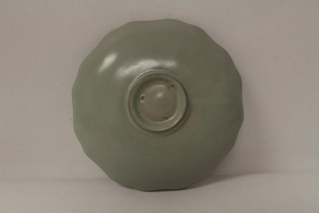 2 Chinese Song style celadon plate - 5