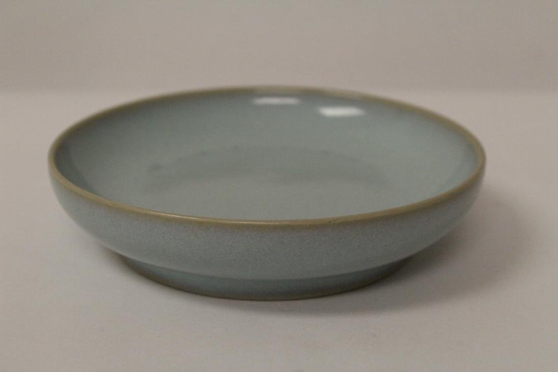 2 Chinese Song style celadon plate - 6