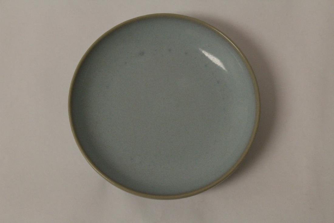 2 Chinese Song style celadon plate - 7