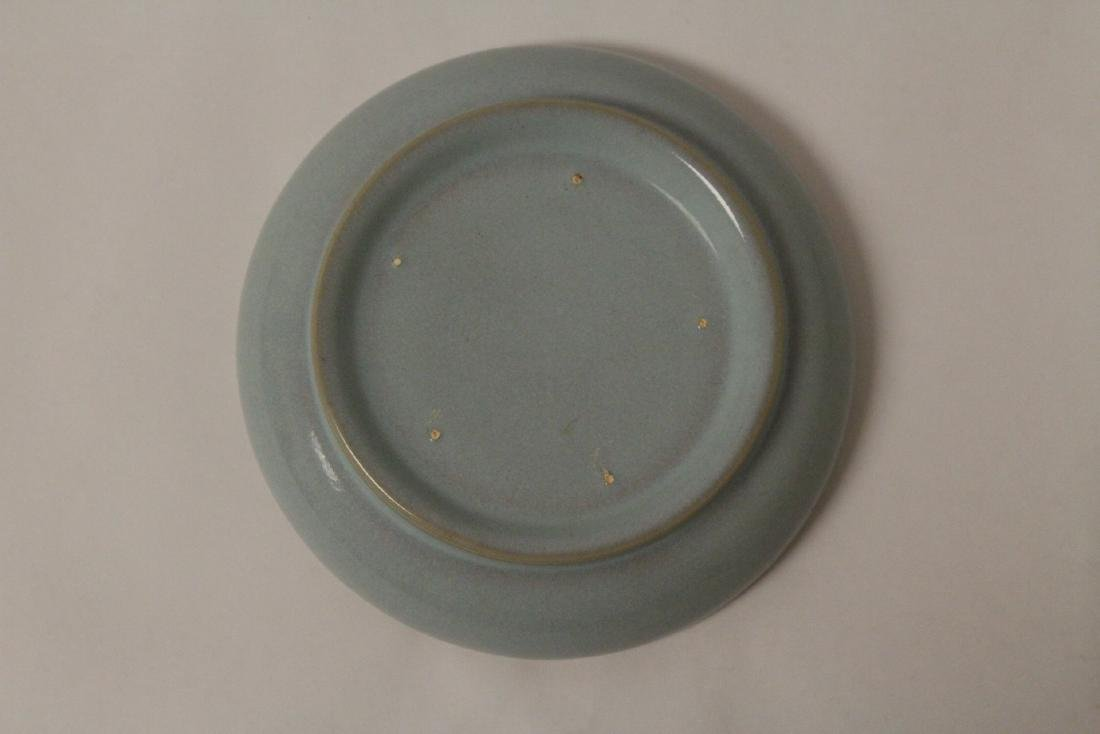 2 Chinese Song style celadon plate - 8