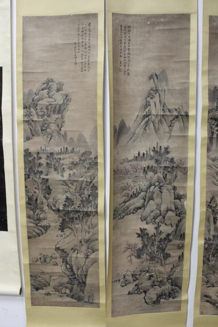 Lot of Chinese print scrolls and panels - 4