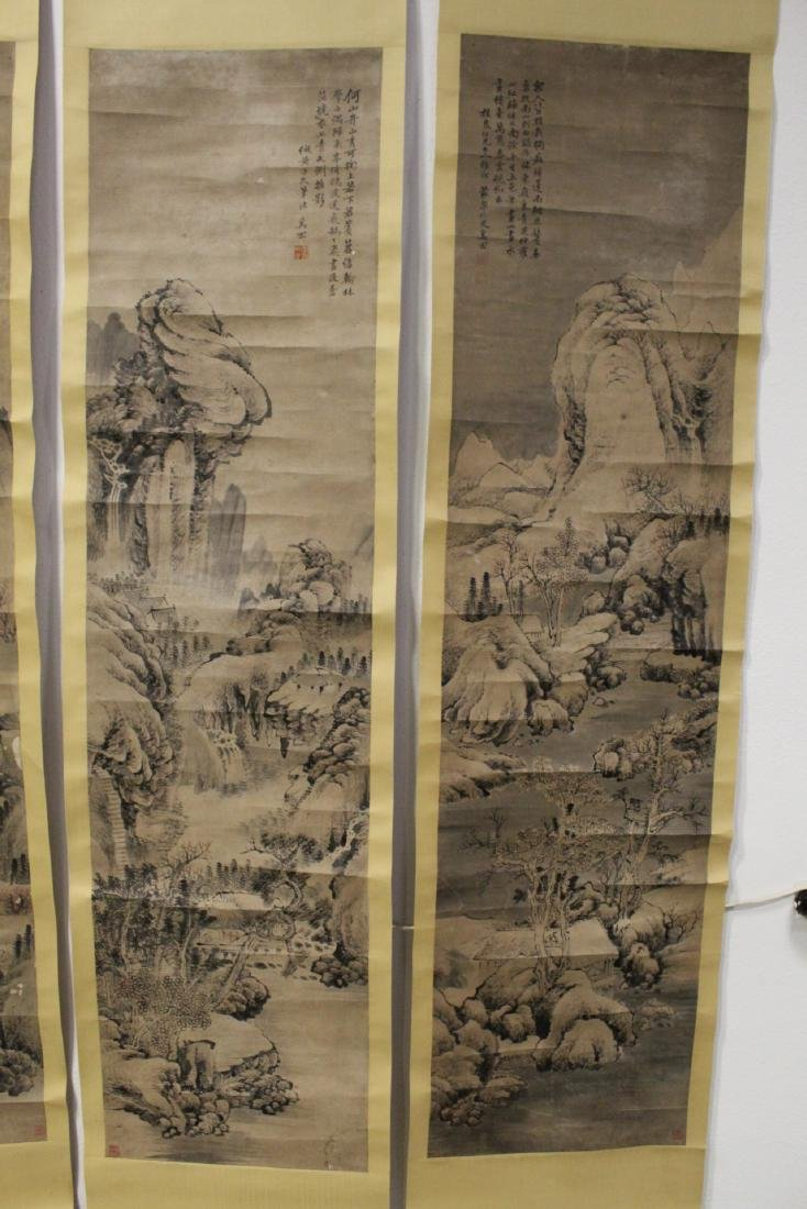 Lot of Chinese print scrolls and panels - 5