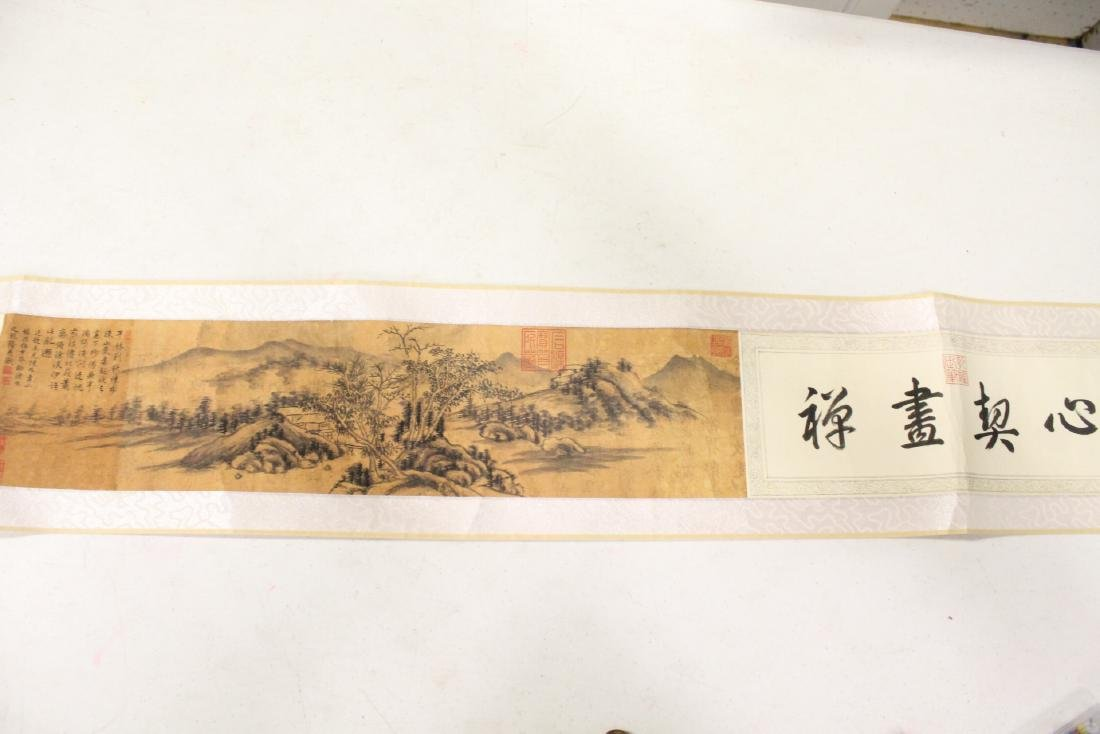 Lot of Chinese print scrolls and panels - 6