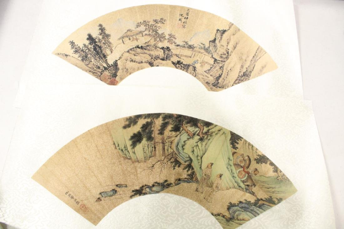Lot of Chinese print scrolls and panels - 7