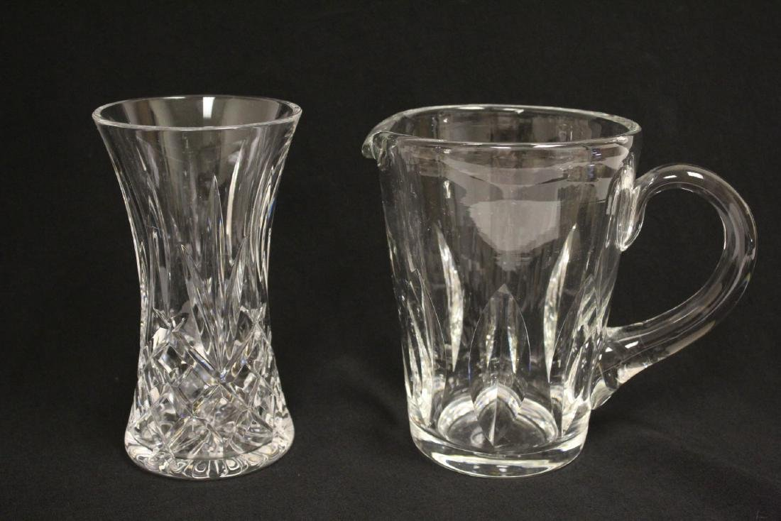 13 pieces porcelain crystal and art glasses - 3