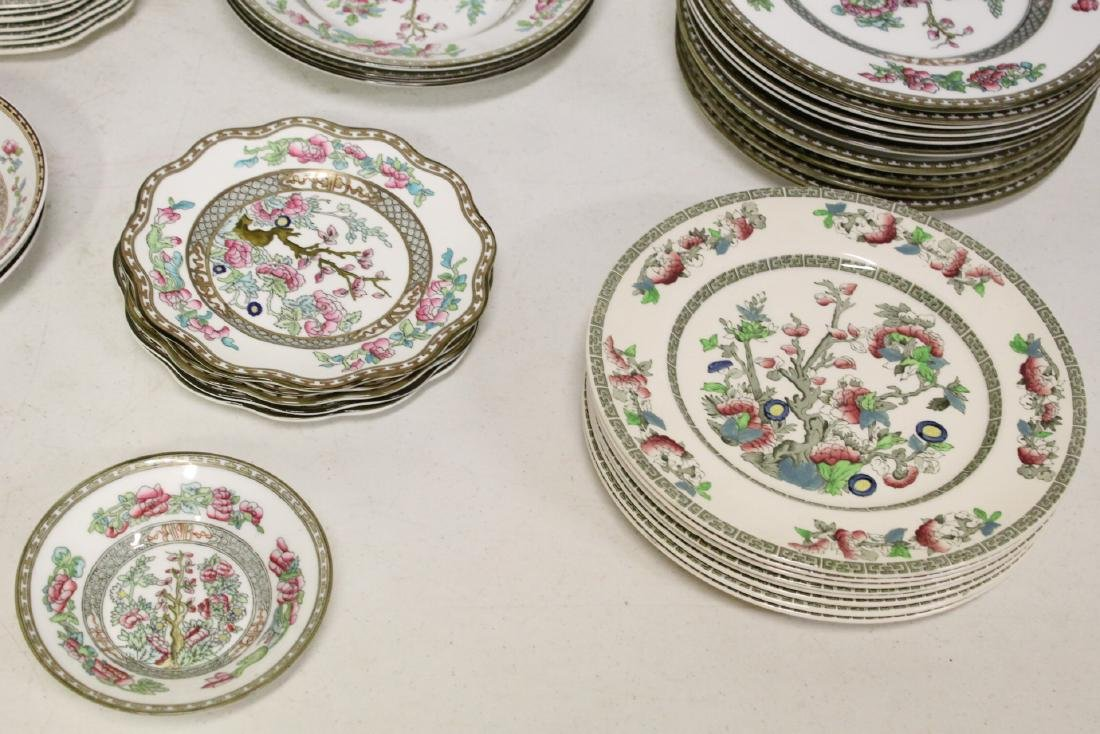 Johnson Brother china set in Indian tree pattern, total - 3