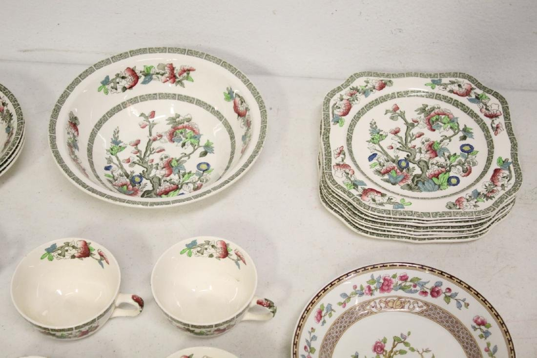 Johnson Brother china set in Indian tree pattern, total - 4