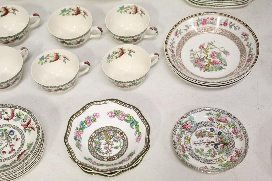 Johnson Brother china set in Indian tree pattern, total - 5