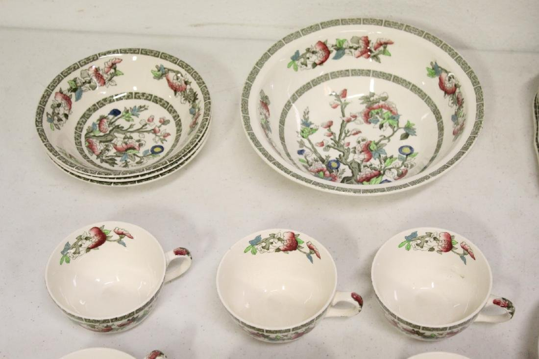 Johnson Brother china set in Indian tree pattern, total - 6