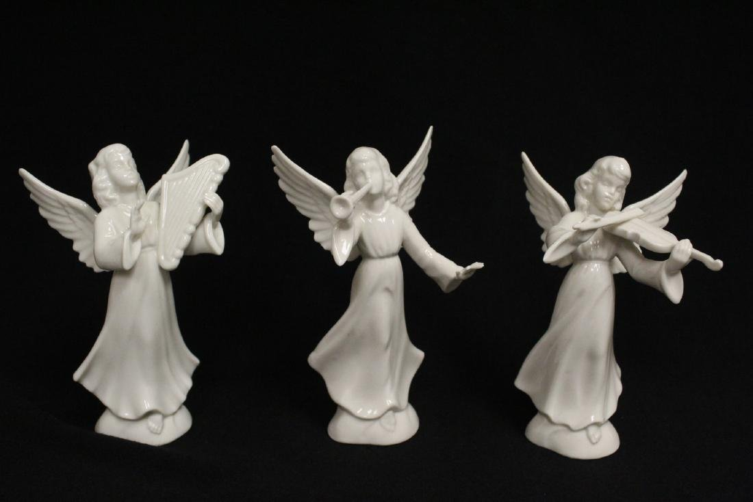 Lg early 20th c. Germany porcelain nativity set - 7