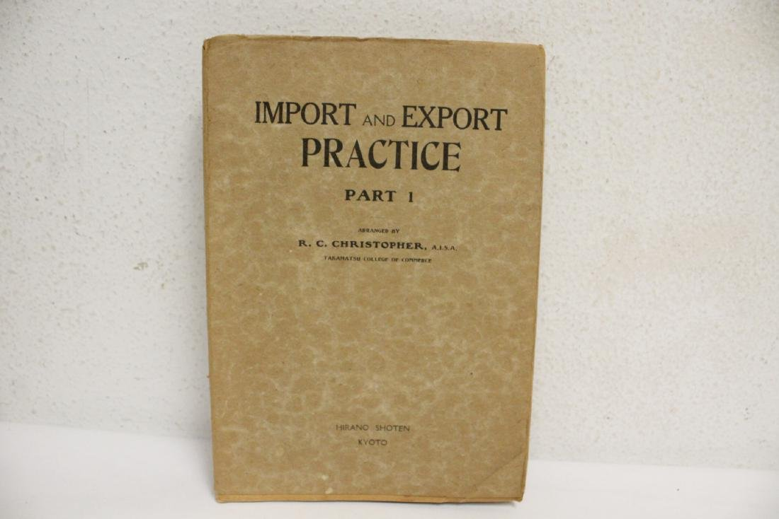 5 Chinese early 20th century custom rule books - 4