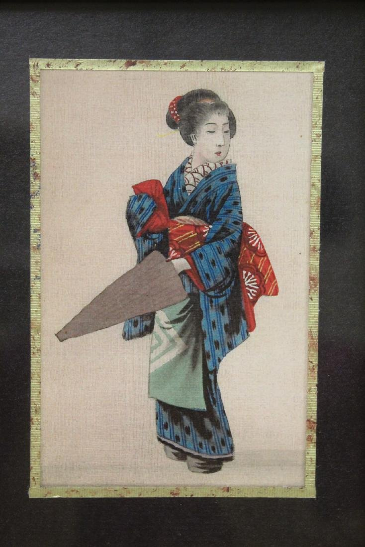 2 Japanese prints, and 2 antique European prints - 7
