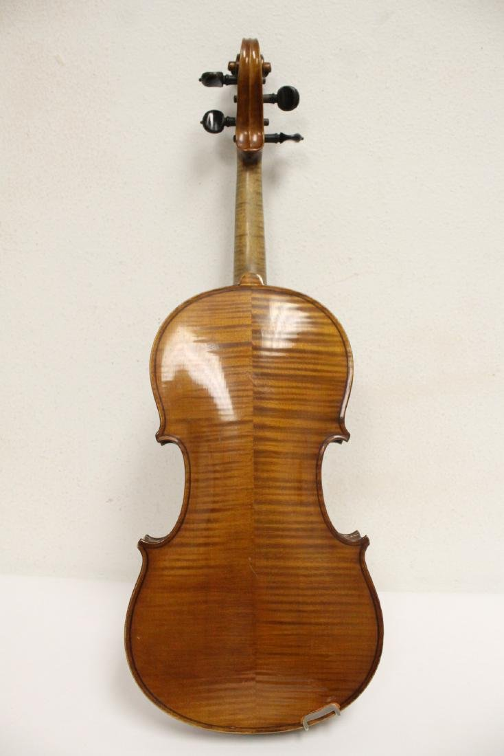 Antique violin with bow - 6