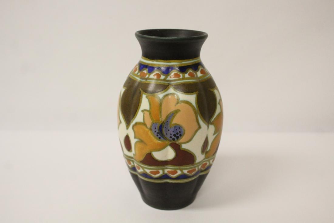 A fine Gouda art pottery vase - 3