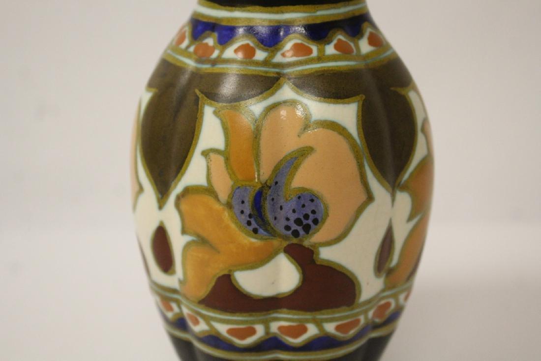 A fine Gouda art pottery vase - 4