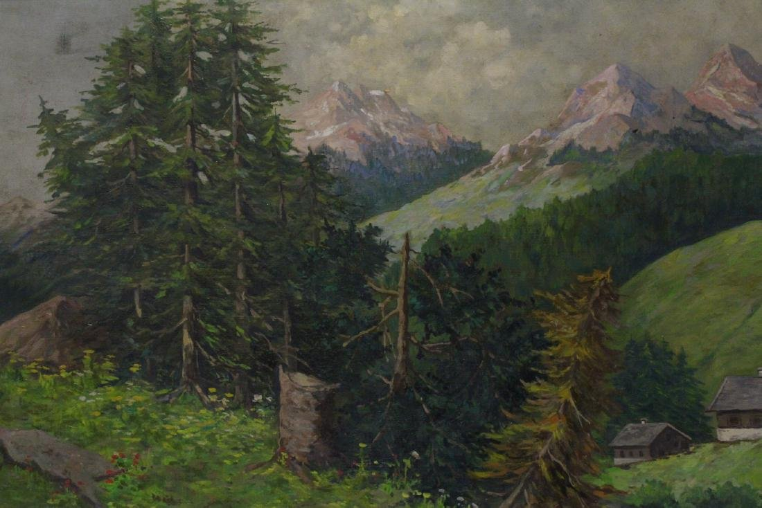 Oil on canvas by Constantin Stoitzner - 6