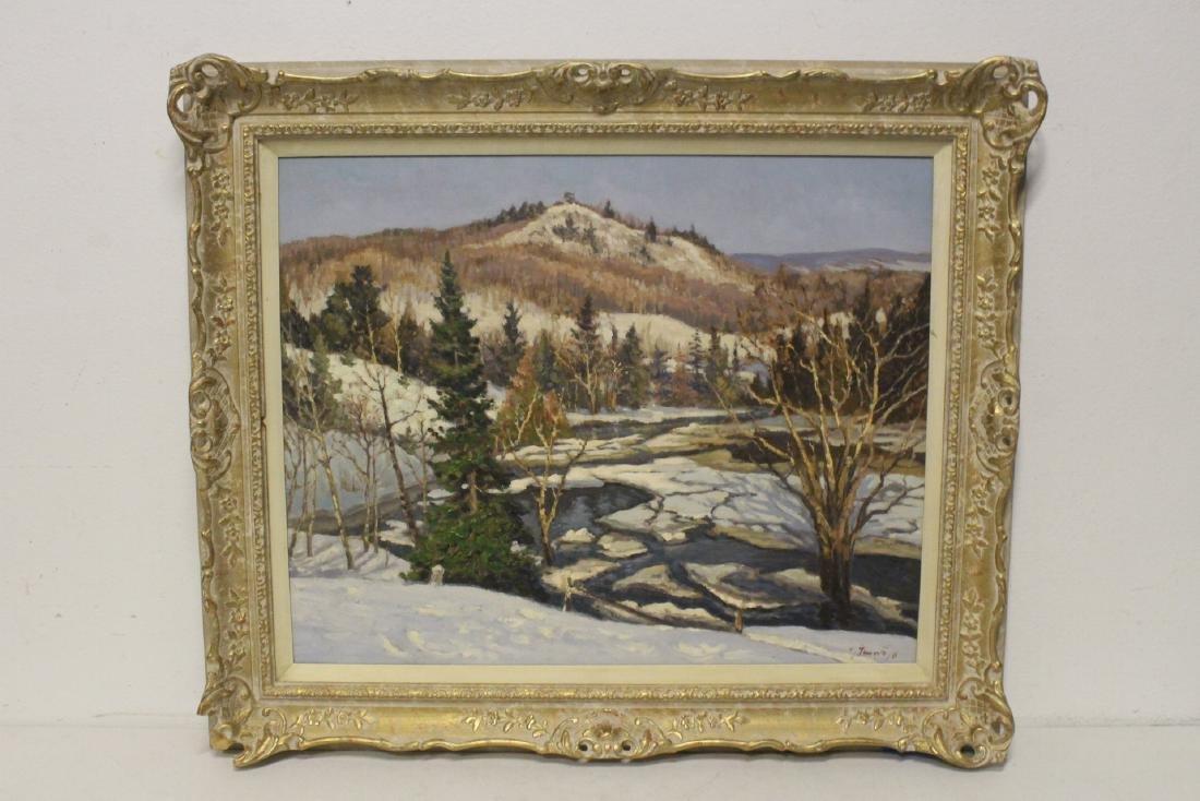 Oil on panel by Joseph Giunta