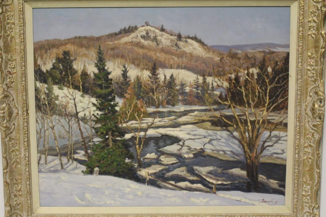 Oil on panel by Joseph Giunta - 2