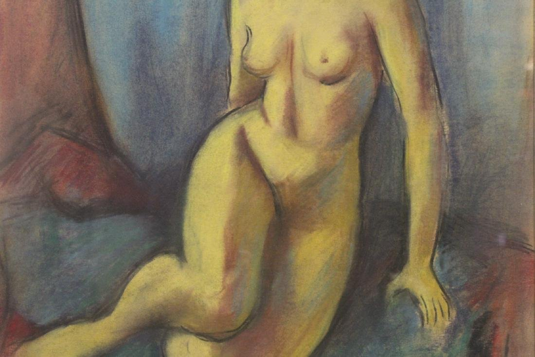 Framed pastel painting by Herman Heimlich - 4