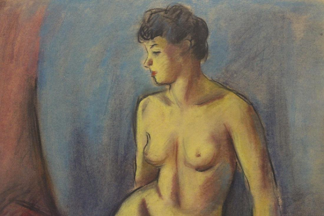 Framed pastel painting by Herman Heimlich - 5