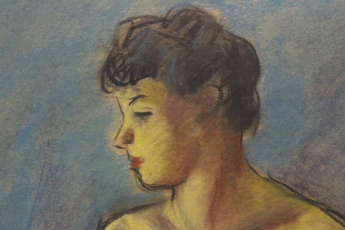 Framed pastel painting by Herman Heimlich - 7