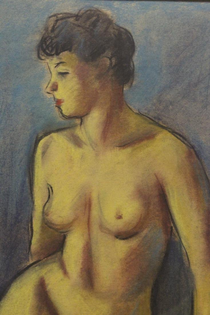 Framed pastel painting by Herman Heimlich - 9