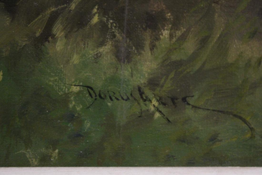 Beautiful 19th/20th c. oil on canvas painting, signed - 10