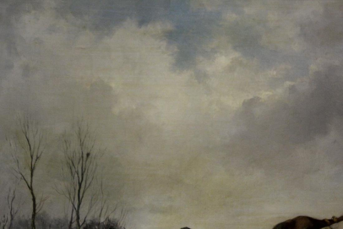 Beautiful 19th/20th c. oil on canvas painting, signed - 9