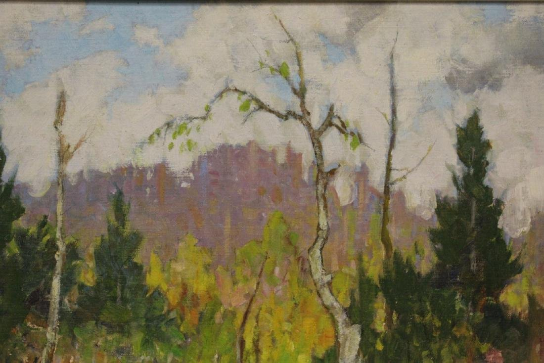 Oil on panel by Hal Ross Perrigard - 5