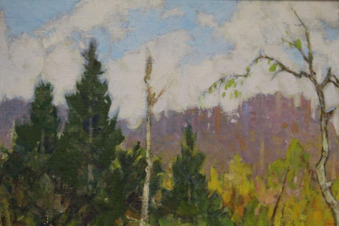 Oil on panel by Hal Ross Perrigard - 6