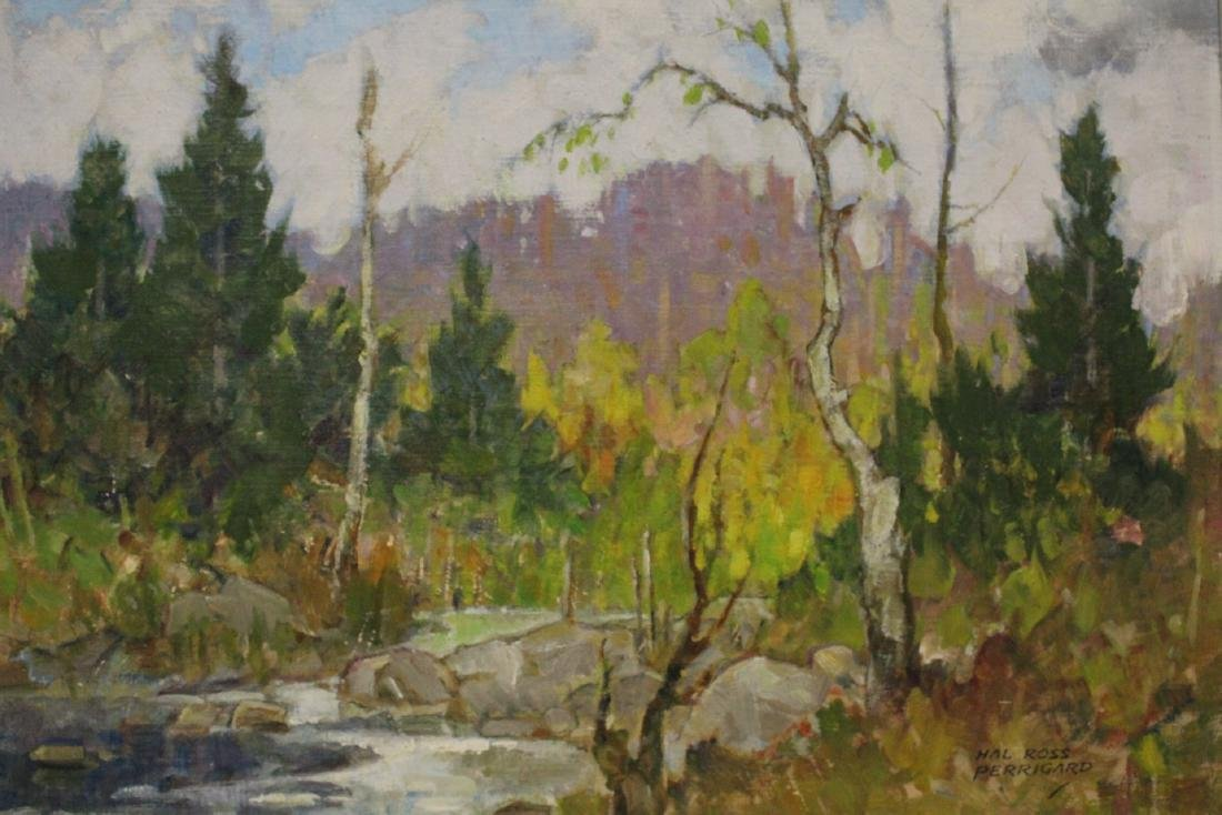 Oil on panel by Hal Ross Perrigard - 7