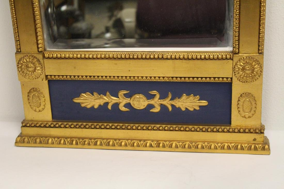 A beautiful antique French giltwood mirror - 3