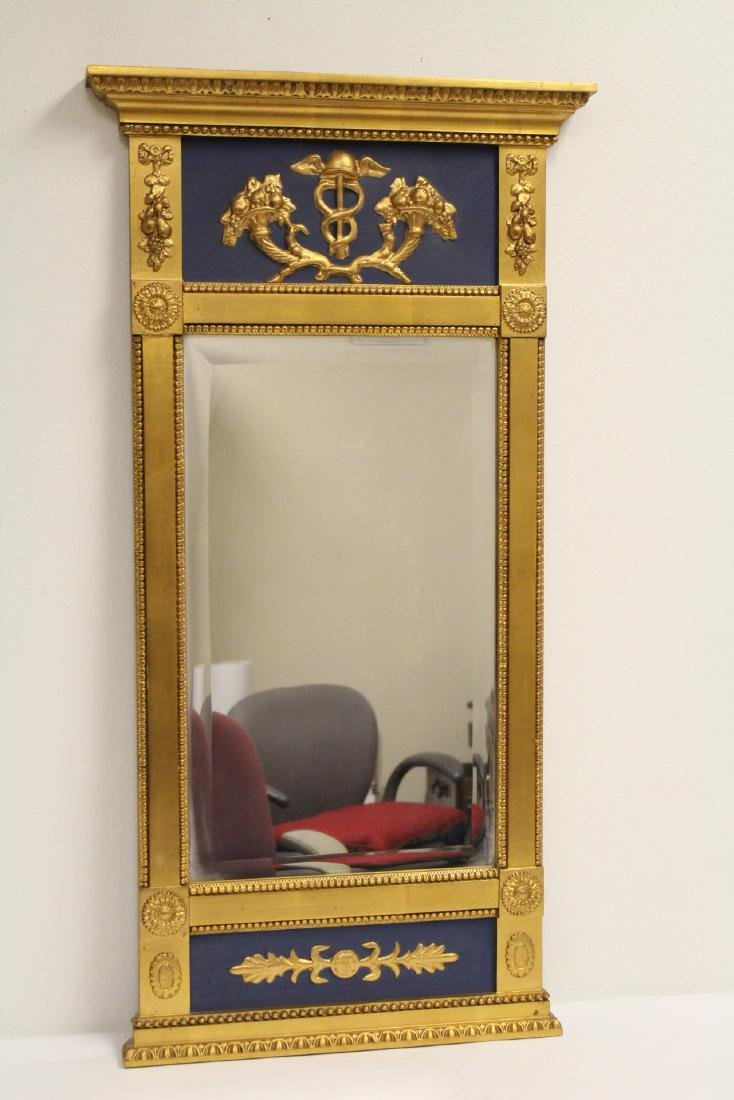 A beautiful antique French giltwood mirror - 7