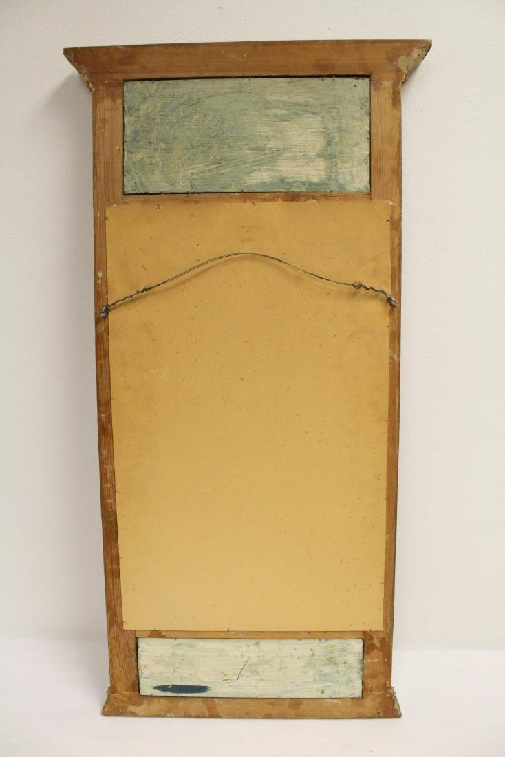 A beautiful antique French giltwood mirror - 9