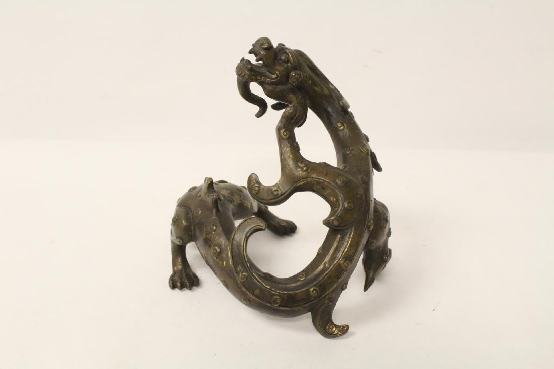 Chinese rare antique bronze sculpture