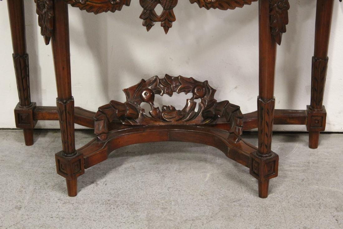 Chinese rosewood console table - 2