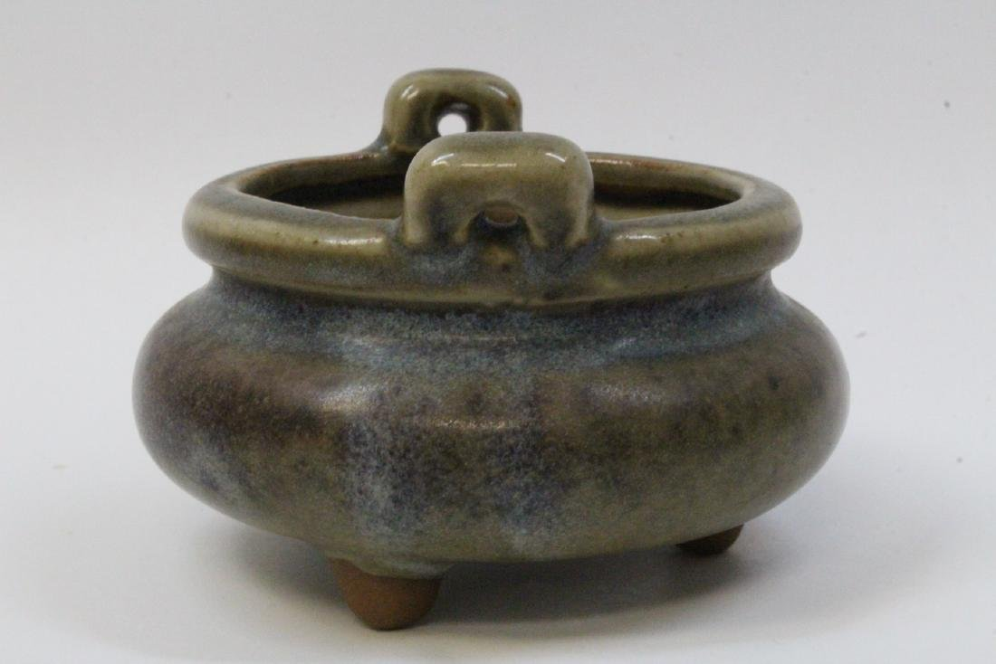 Chinese vintage small Song style censer - 6