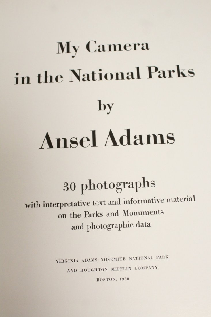 Two books by Ansel Adams - 10