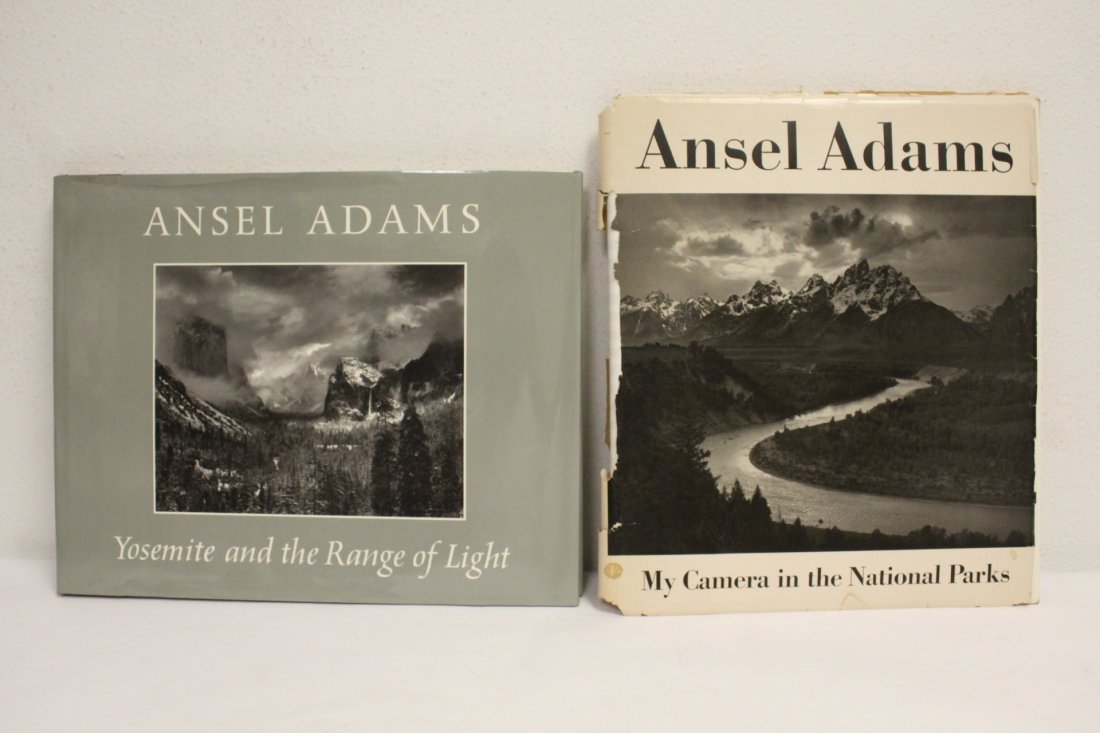 Two books by Ansel Adams