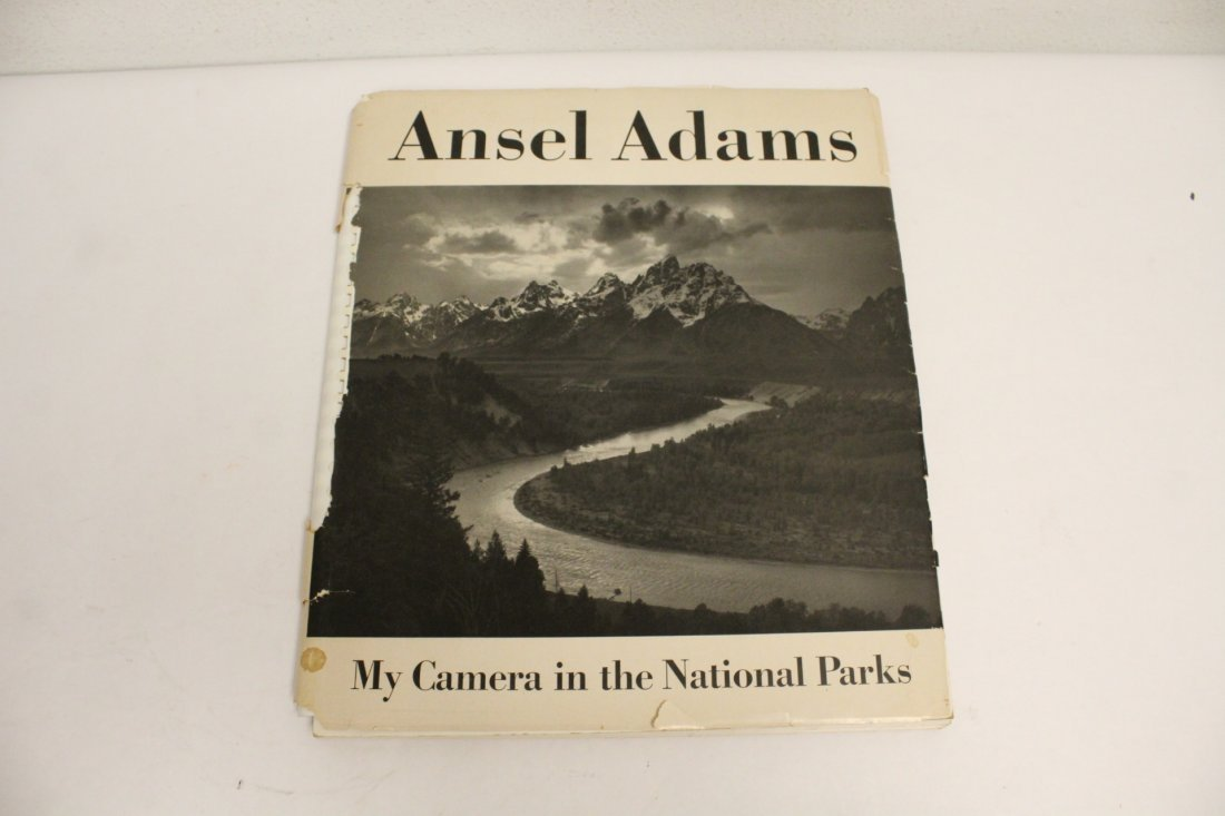 Two books by Ansel Adams - 8